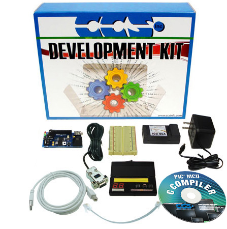 PIC16F887 Student Development Kit