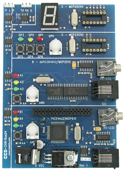 CCS, Inc  - CAN Bus 24 Development Kit