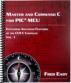 Master and Command C for PIC<sup>&reg;</sup>MCU