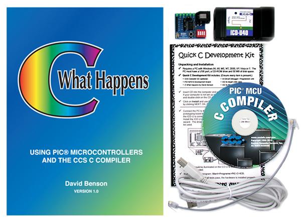 CCS, Inc  - Quick C: PIC16F818