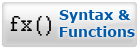 Syntax and Functions