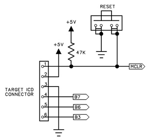 Target ICD Circuit Schematic