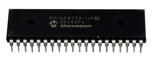 PIC16F877A Reprogrammable Dip Chip