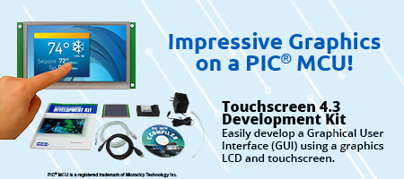 Touch Display 4.3 Development Kit
